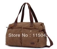 Guaranteed 100% Cotton Canvas Large Capacity Tote Fashion Big Travel Bag Casual Handbags+Free Shipping