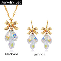 Jewelryset Crystal elements jewelry earring necklace - a bit of happiness4149