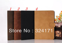 Official Leather Case For iPad Mini, Thin Minimal Design fashon good quality leather cover stand pouch free shipping 30pcs/lot