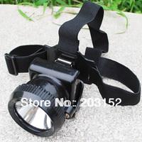 30pcs/lot Mini 3W LED Miner Cap Light Lamp Mining Camping Headlamp free shipping