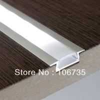 MOQ10m wholesale recessed slime line 15mm LED strip Profile Flush Mount Aluminum LED Profile Housing Fedex free shipping