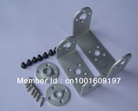 10x Robot servo brackets metal U brackets and round  servo  holder 25T