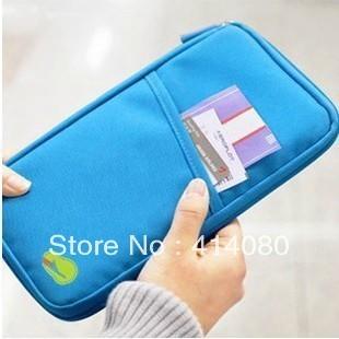 Hot sale Travel passport clutch bagsTravelus multifunctional storage bag card holder,ticket holder free shipping