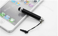 100pc/Lots DHL Free Colorful Stylus Universal Capacitive Touch Pen , for iPad for iPhone 5/4S/4 for Samsung Galaxy