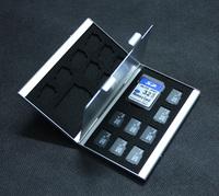 18 Slot Micro SD MMC TF Memory Card Storage Box Protecter Case hold 2x SD 16x TF