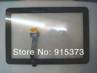 Original Digitizer For Samsung P5100 Touch Screen Black Free Gift Phone Repair Tools 5pcs ; Free shipping