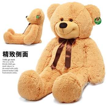 "2013 New Cute Giant 55"" Doll Large plush toys Teddy bear Baby come to bear doll Birthday gift  Free Shipping"