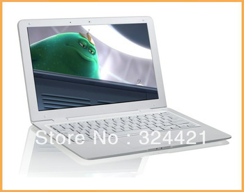 2013 Newest high quality D2500 Duo Core 13.3inch Ultrathin Windows 7/XP Computer 2GB RAM+320GB HDD.86GHz Notebook PC MINI Laptop