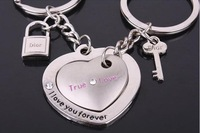 Free ship  ally lover key chain / key ring / keychain , couple key ring