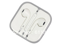 Free shipping 1:1 Original 3.5mm stereo earphone for ipod iPhone touch 5 5g Nano 6 earbuds,Earpods earphone headphones