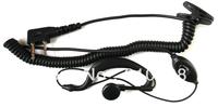 Freeshipping two-way radio earpiece for IC-V85 IC-V80 radio IC-V82 walky talky Cheap walkie talkie