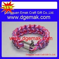 2013 cheapest 550 braiding parachute cord bracelet