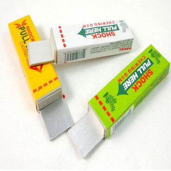 Safety Electric Shock Shocking Chewing Gum Joke Toy #7195