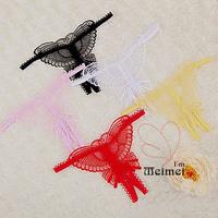 10 Pcs/lot Wholesale !!!! 6 colors sexy G-string/  appeal underwear lady's T pants  SKU: CLT007