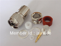 N male clamp connector for LMR400 cable