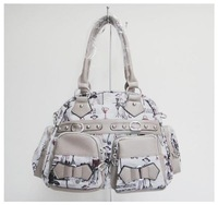 name brand handbags,leisure bags,Luggage handbag,material:PU, Size:40 x 26cm,3 different colors,(gray),Free shipping