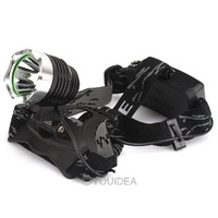 1pc NEW 1600Lm XM-L XML T6 LED Headlamp Rechargeable Headlight FOR 2x18650 80269