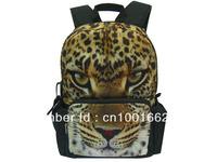 New 17inch Leopard printing school backpack bag BBP101