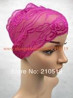 YAU041 Popular lace islamic inner cap;muslim underscarf muslim gear