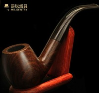 Free Shipping High Quality Classic Handmade Ebony Wood Tobacco Pipes,Smoking Pipe Dropshipping Wholesale