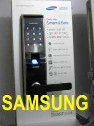 100% Original Packing Korean SAMSUNG Brand Biometrics Fingerprint Digital Door Lock,fingerprint Security Door lock EZON SHS-5230(China (Mainland))