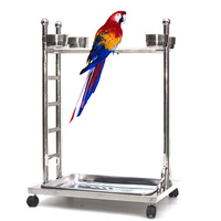 Parrot Bird Stands L56 X W45 X H80.5cm with H-shaped
