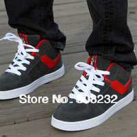 Free Shipping 2014 New Arriver Fashion 3 Colors Casual Athletic Platform Skate Flat Shoe With Classical Designers