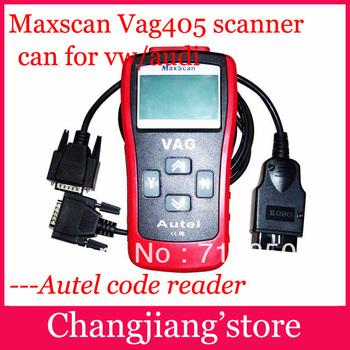 2014 dhl freeMaxScan VAG405 Code Reader OBD2 EOBD CAN BUS VAG 405 scanner tool