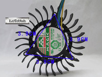 Free Shipping  For XFX 9600GT 9800GT MGT6012ZR-W15 turbo graphics card fan 4-wire