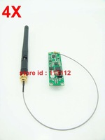 2.4Ghz wireless DMX512 PCB board transmitters & receiver for stage light fast free shipping 4PCS