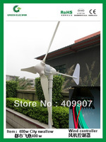 Wholesales home marine use max power  500w wind turbine power generator 500w windmill+wind regulator charger controller