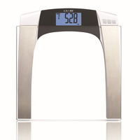 Electronic Body Fat Hydration Monitor Weight Scale Digital Balance with Multi function and Simple Style