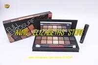 1pc New arrival  Brand Full Exposure EyeShadow +Mascara Set 14 Color Eyeshadow Palette  Free Shipping