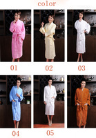 Free shipping bathrobe, bamboo robes, 100%bamboo fiber, more size , unisex, natural & eco-friendly, thickness