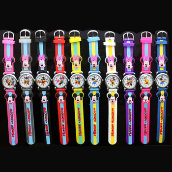 2014 New Hot Sales Wholesale Cute MC Colorful Cartoon Children Anolog Wrist Watch Quartz Jelly Silicone Band Clock For Child