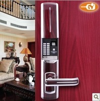 Digital fingerprint combination door lock