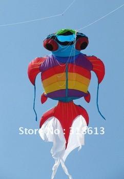 Free shipping NEW design golden fish flying kite 6*3m,Sport Nylon Kite