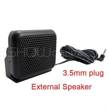 New CB Ham Radios Mini External Speaker NSP-100 For Kenwood Motorola ICOM Yaesu Walkie talkie J0076A Alishow