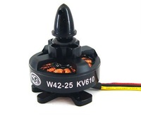 HengLi W42-25 610KV 3-4S 330W Brushless Motor for Quad HexCopter 24N22P Multi