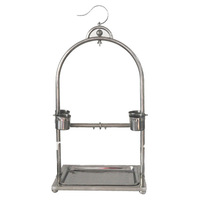 Hot Sale Stainless Steel Parrot Play Stand-Sold by The Case