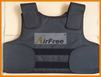 FREE Shipping  CONCEALABLE BULLETPROOF VEST  Police Body Armor  Size XL Black Color