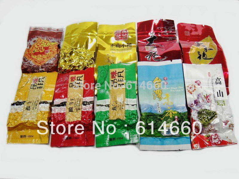 Buy 5 get 1 NEW TEA 10 Different Flavors Oolong Tea Milk oolong tea TiKuanYin DaHongPao