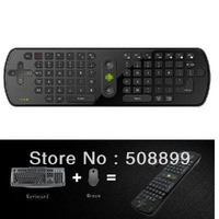 RC11 Android Wireless Keyboard Air Mouse Remote Controller With Gyroscope for MK802 UG802 Free Shipping