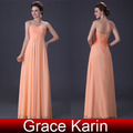 Free Shipping Grace Karin Strapless Pink Ball Gowns Long Sexy Prom Dress Evening New CL3409