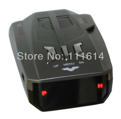 new model radar detector V9 Laser Radar Detector Russian voice warning car radar detector V8 update version free shipping(China (Mainland))