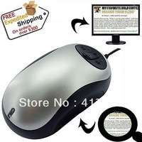 DHL Freeshipping Mouse Magnifier for People with Low Vision ,Mousecam video magnifier,Newspaper Reader