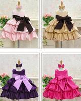 NEW,Retail NEW,2013 children dress 4pcs/lot girls High-grade Princess dress chiffon Big bowknot dresse for summer red pink