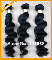 Peruvian virgin hair loose wave Mix 3pcs lot unprocessed virgin hair weave bundles 100% human hair extensions Free shipping