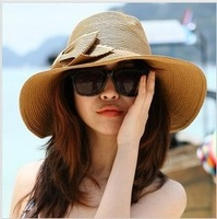 Dayan Mao beach hat  sun hat female summer straw hat foldable free shipping