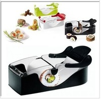 Free Shipping Perfect Roll Sushi Maker Roller Machine DIY Easy Kitchen Magic Gadget